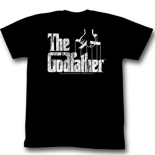 Image for Godfather T-Shirt - Puppet Logo