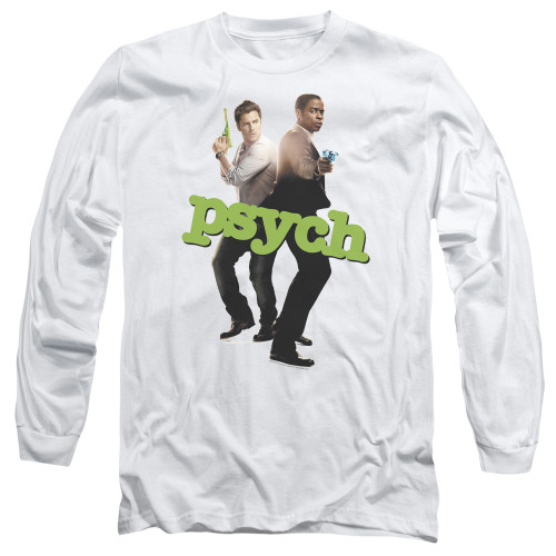 Image for Psych Long Sleeve T-Shirt - Hands Up