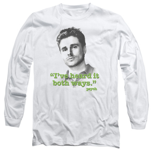 Image for Psych Long Sleeve T-Shirt - Both Ways
