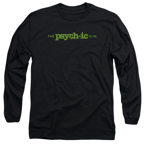 Image for Psych Long Sleeve T-Shirt - The Psychic is In