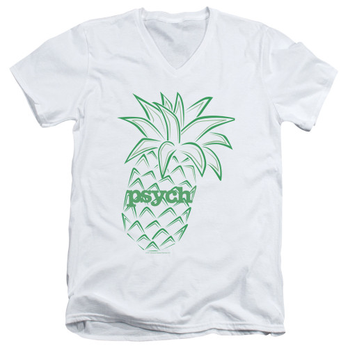 Image for Psych T-Shirt - V Neck - Pineapple