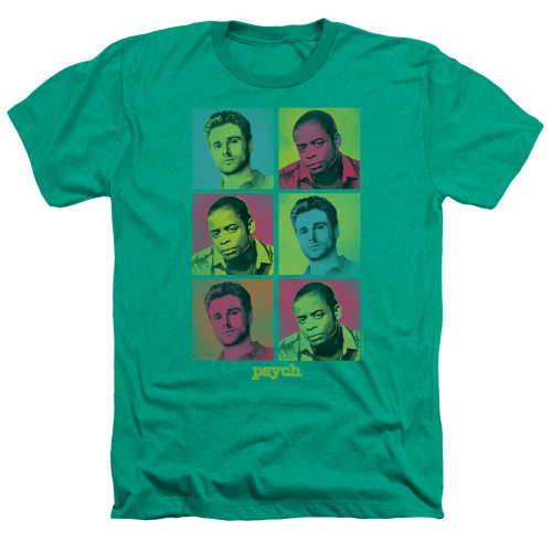 Image for Psych Heather T-Shirt - Squared