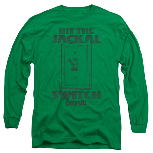 Image for Psych Long Sleeve T-Shirt - Jackal Switch