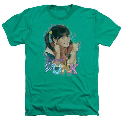 Image for Punky Brewster Heather T-Shirt - Original Punk