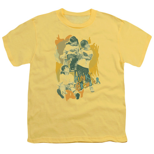 Image for Punky Brewster Youth T-Shirt - Tri Punky