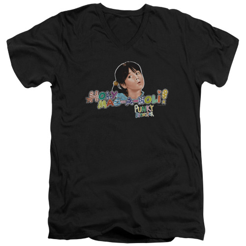 Image for Punky Brewster T-Shirt - V Neck - Holy Mac a Noli