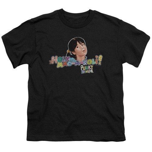 Image for Punky Brewster Youth T-Shirt - Holy Mac a Noli