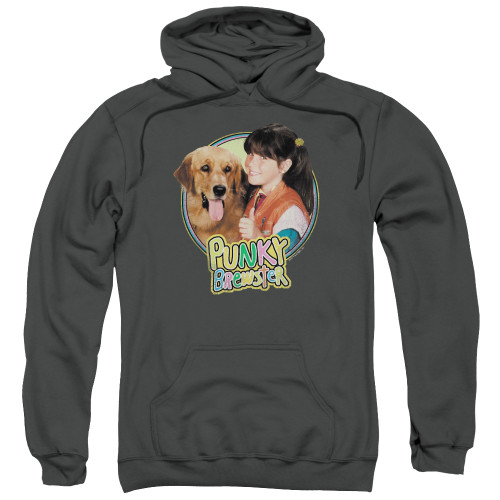 Image for Punky Brewster Hoodie - Punky & Brandon
