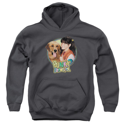 Image for Punky Brewster Youth Hoodie - Punky & Brandon