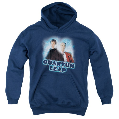 Image for Quantum Leap Youth Hoodie - Sam and Al