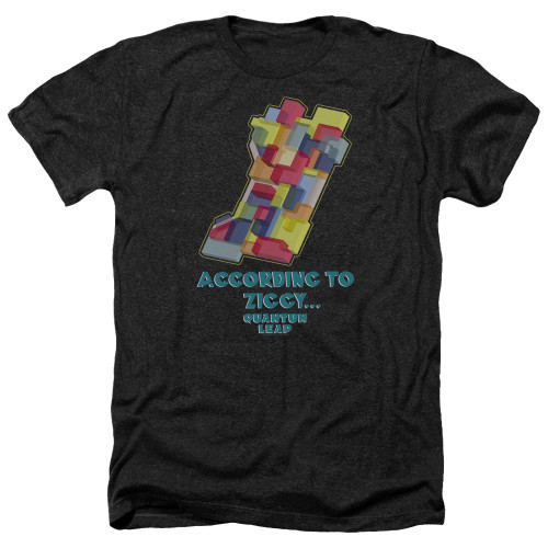Image for Quantum Leap Heather T-Shirt - According to Ziggy