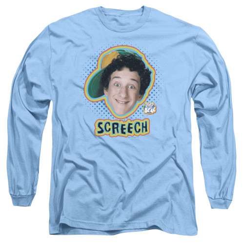 Image for Saved by the Bell Long Sleeve T-Shirt - Screech