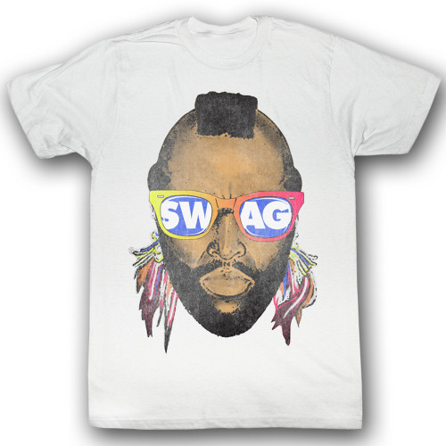 Image for Mr. T T-Shirt - Swwwag