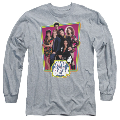 Image for Saved by the Bell Long Sleeve T-Shirt - Saved Cast