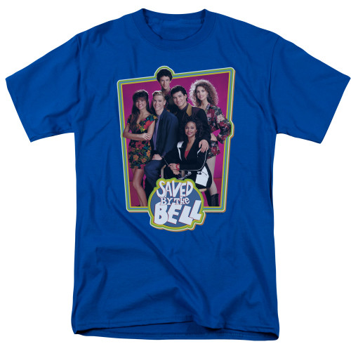 Image for Saved by the Bell T-Shirt - Blue Cast