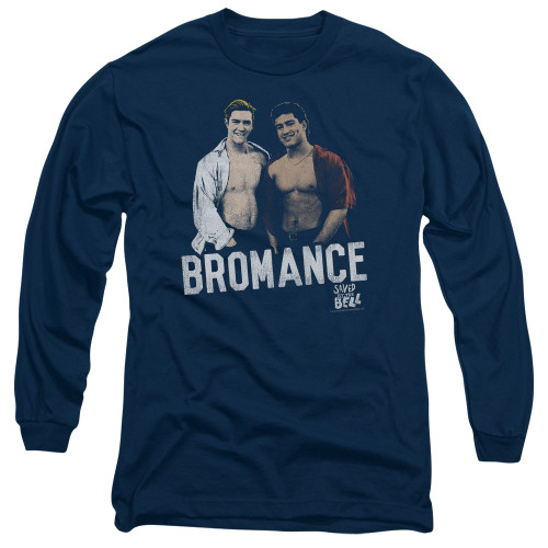 Image for Saved by the Bell Long Sleeve T-Shirt - Bromance