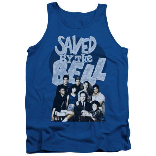 Image for Saved by the Bell Tank Top - Retro Cast