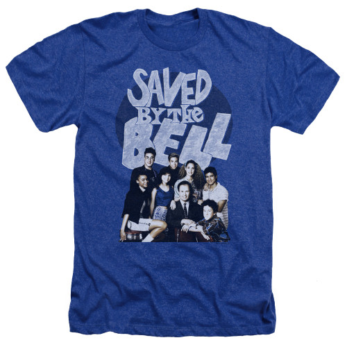 Image for Saved by the Bell Heather T-Shirt - Retro Cast