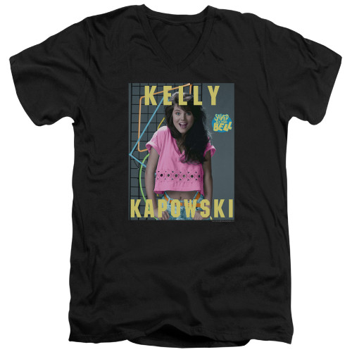Image for Saved by the Bell T-Shirt - V Neck - Kelly Kapowski