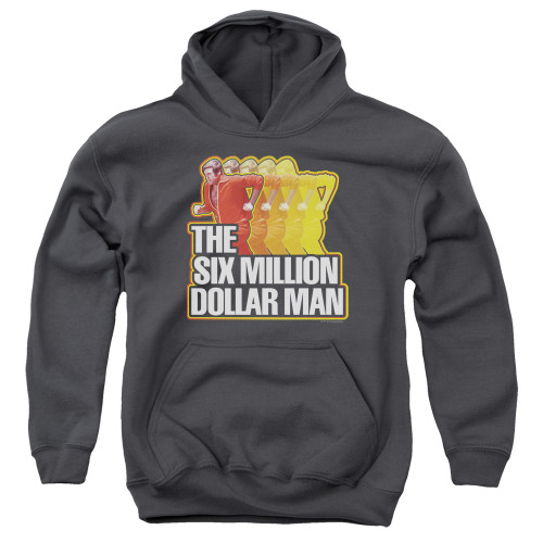 Image for The Six Million Dollar Man Youth Hoodie - Run Fast