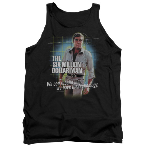 Image for The Six Million Dollar Man Tank Top - Technology