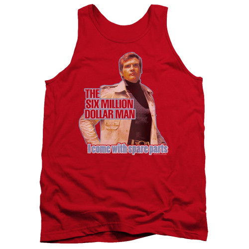 Image for The Six Million Dollar Man Tank Top - Spare Parts