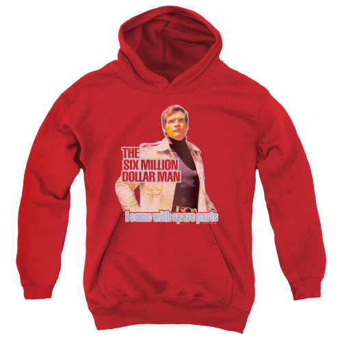 Image for The Six Million Dollar Man Youth Hoodie - Spare Parts