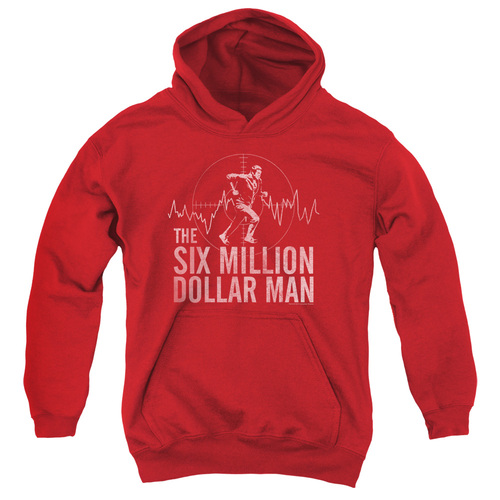 Image for The Six Million Dollar Man Youth Hoodie - Target