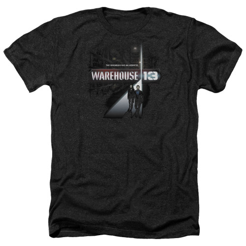 Image for Warehouse 13 Heather T-Shirt - The Unknown
