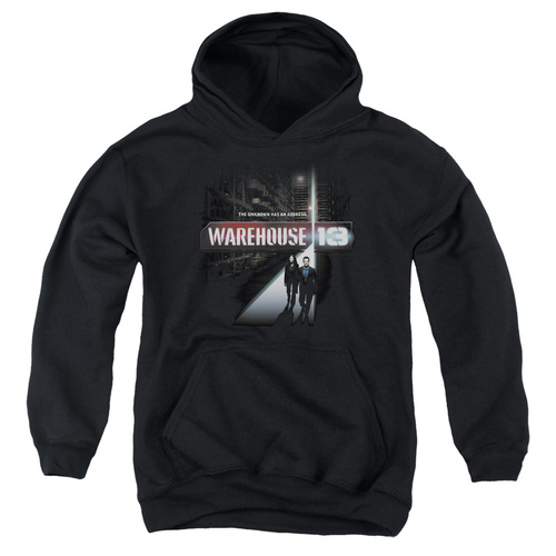 Image for Warehouse 13 Youth Hoodie - The Unknown