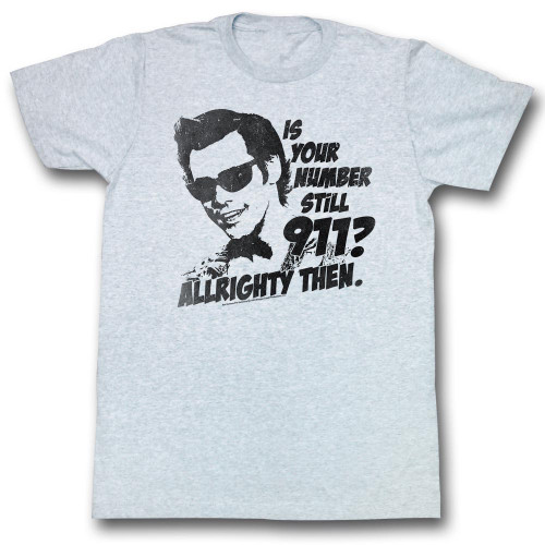 Image for Ace Ventura Pet Detective T-Shirt - Nine One One