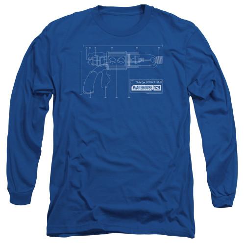 Image for Warehouse 13 Long Sleeve T-Shirt - Tesla Gun