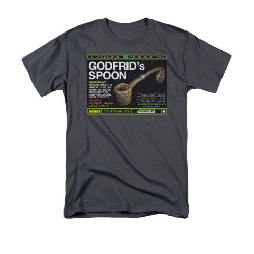 Image for Warehouse 13 T-Shirt - Godfrid Spoon