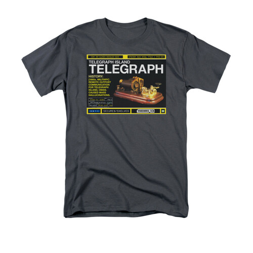 Image for Warehouse 13 T-Shirt - Telegraph Island