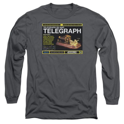 Image for Warehouse 13 Long Sleeve T-Shirt - Telegraph Island