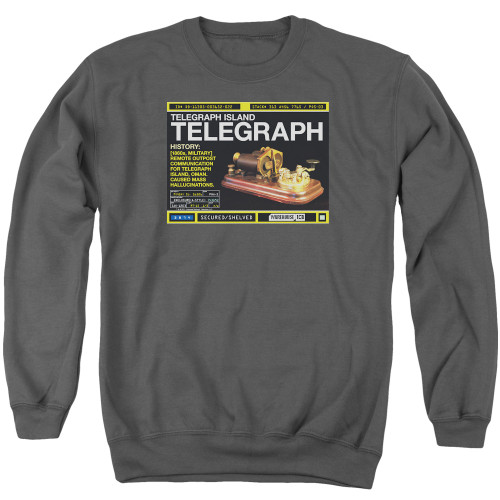 Image for Warehouse 13 Crewneck - Telegraph Island