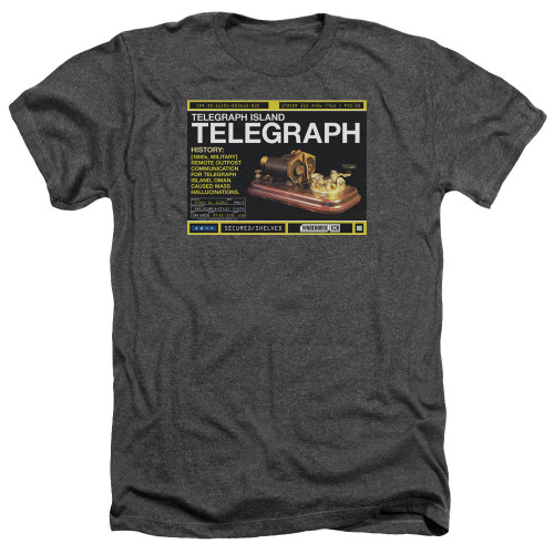 Image for Warehouse 13 Heather T-Shirt - Telegraph Island