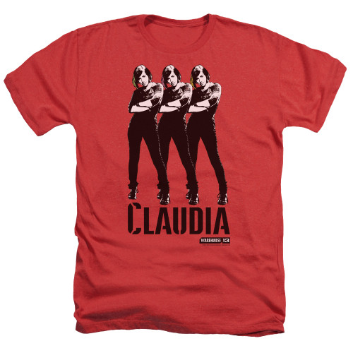 Image for Warehouse 13 Heather T-Shirt - Claudia