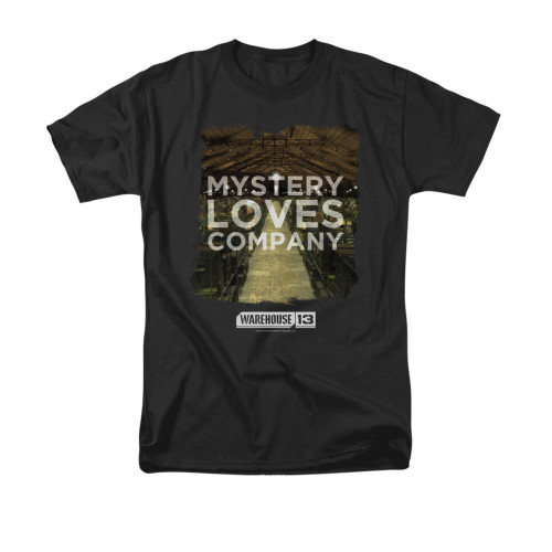 Image for Warehouse 13 T-Shirt - Mystery Loves