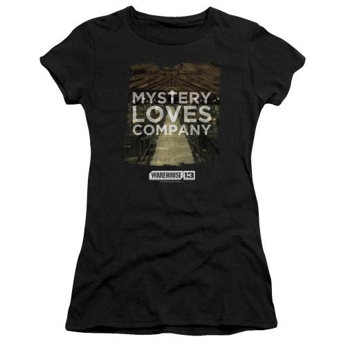 Image for Warehouse 13 Girls T-Shirt - Mystery Loves