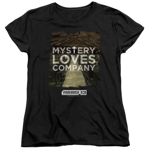 Image for Warehouse 13 Woman's T-Shirt - Mystery Loves