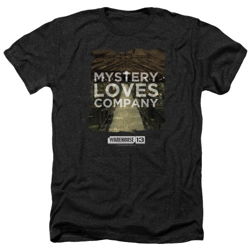 Image for Warehouse 13 Heather T-Shirt - Mystery Loves