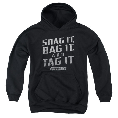 Image for Warehouse 13 Youth Hoodie - Snag It