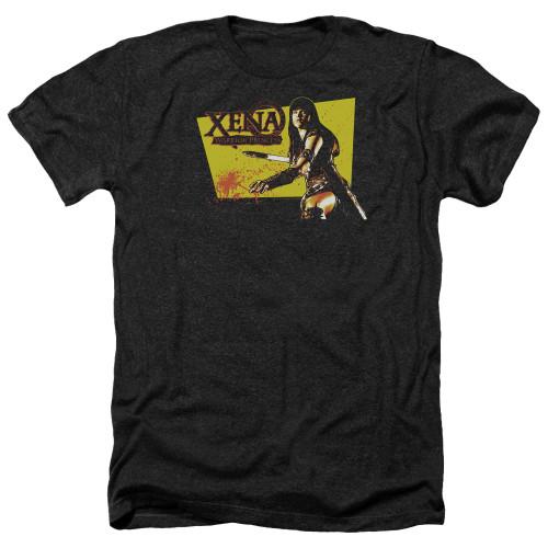 Image for Xena Warrior Princess Heather T-Shirt - Cut Up