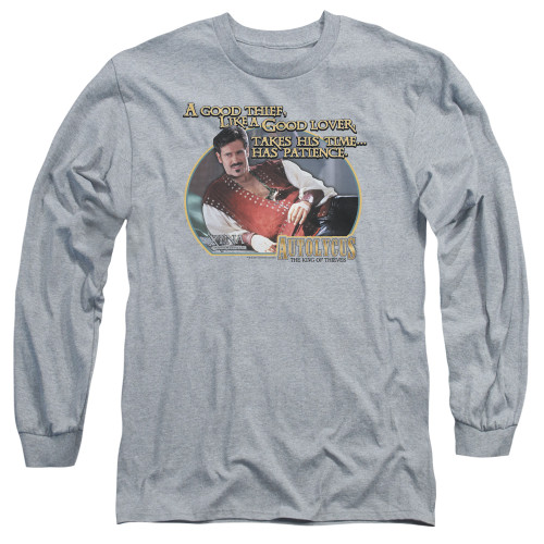 Image for Xena Warrior Princess Long Sleeve T-Shirt - A Good Thief