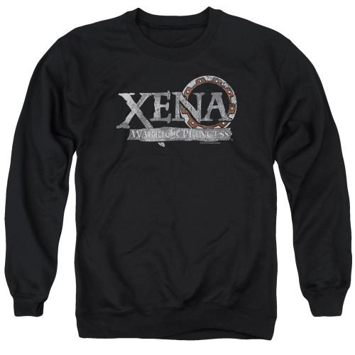 Image for Xena Warrior Princess Crewneck - Battered Logo