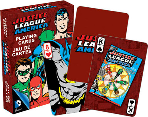 Image for Justice League Playing Cards