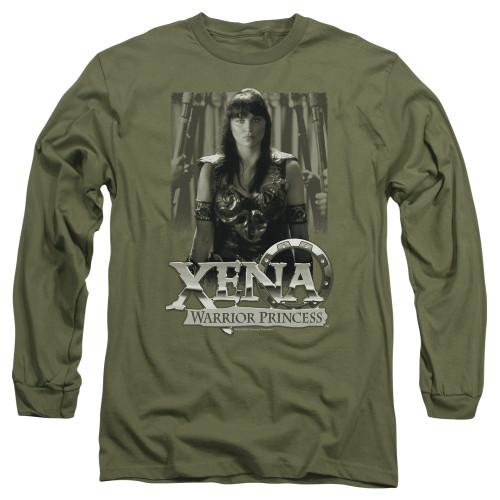 Image for Xena Warrior Princess Long Sleeve T-Shirt - Honored