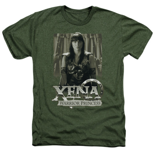 Image for Xena Warrior Princess Heather T-Shirt - Honored