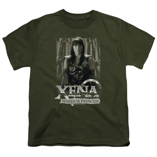 Image for Xena Warrior Princess Youth T-Shirt - Honored
